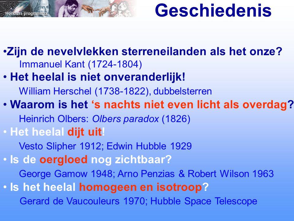 1.Dopplereffect en Uitdijing heelal Wet van Hubble