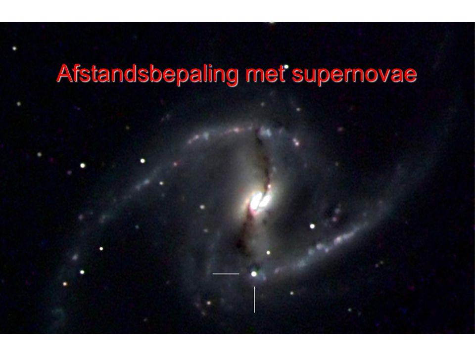 Afstandsbepaling met supernovae