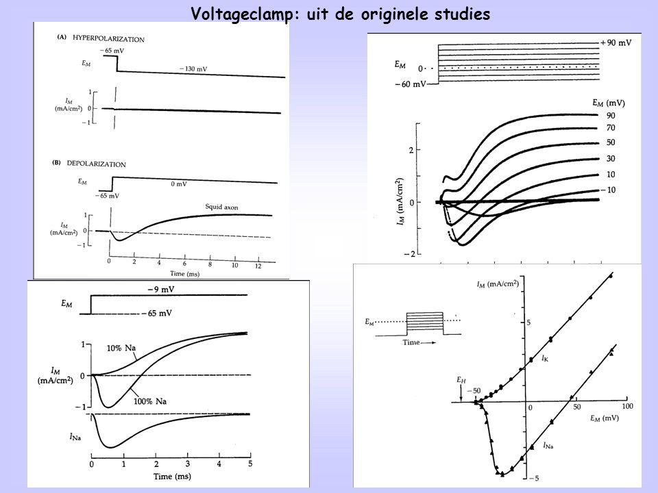 16 Voltageclamp: uit de originele studies