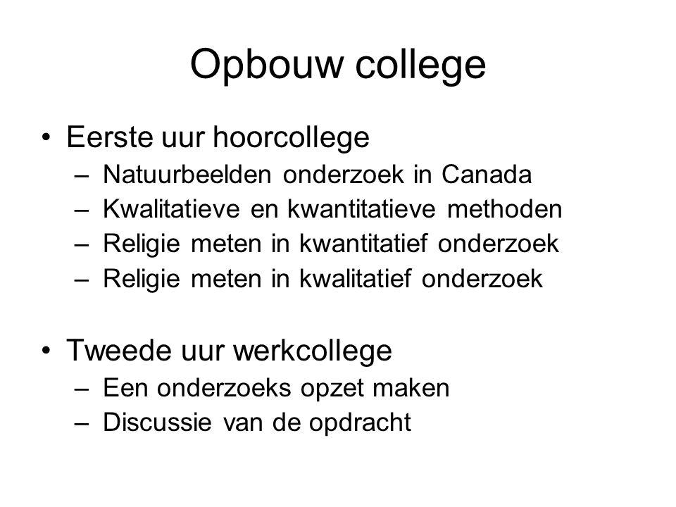Natuurbeelden onderzoek in Canada Studie Sociaal Wetenschappelijke Milieukunde Natuurbeelden onderzoek Nijmegen Stage in Victoria, Canada Religie