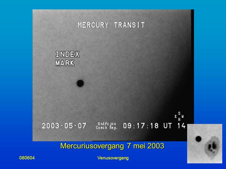 080604Venusovergang14 Mercuriusovergang 7 mei 2003