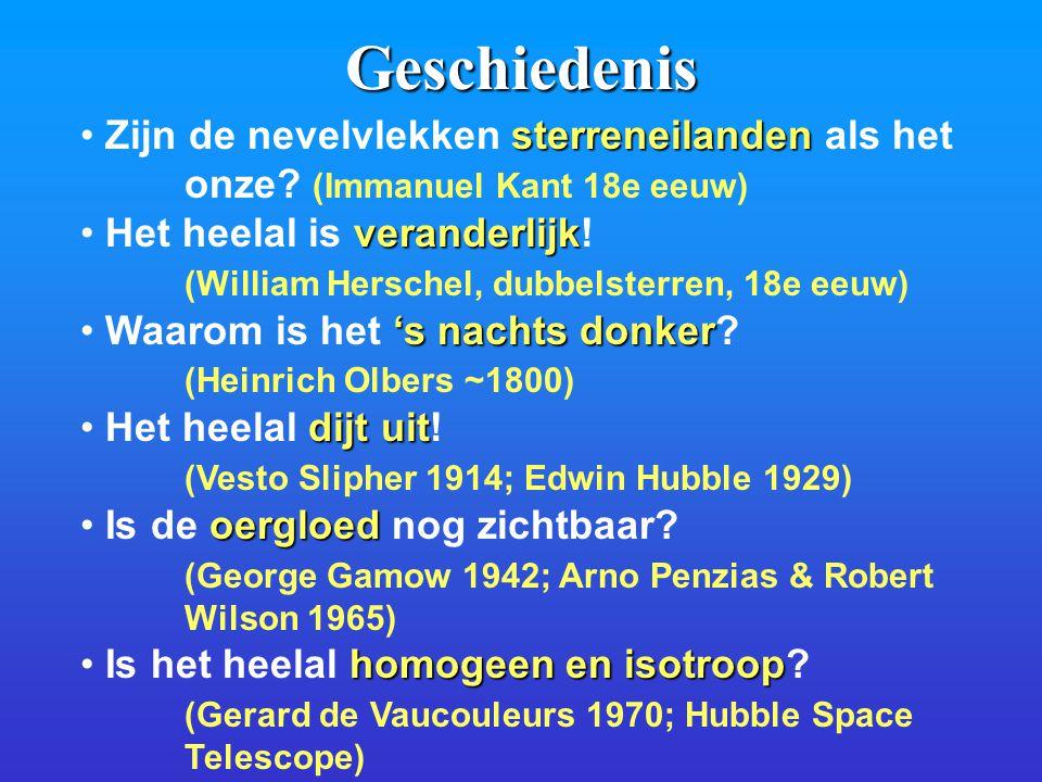 Geschiedenis sterreneilanden Zijn de nevelvlekken sterreneilanden als het onze.