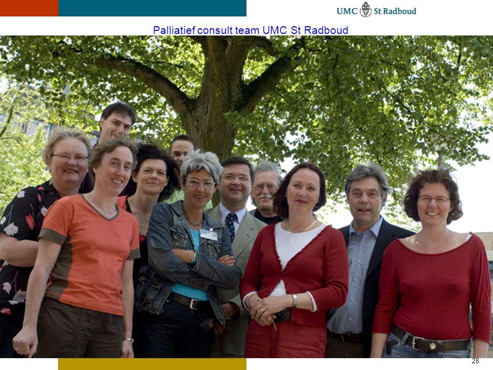28 Palliatief consult team UMC St Radboud