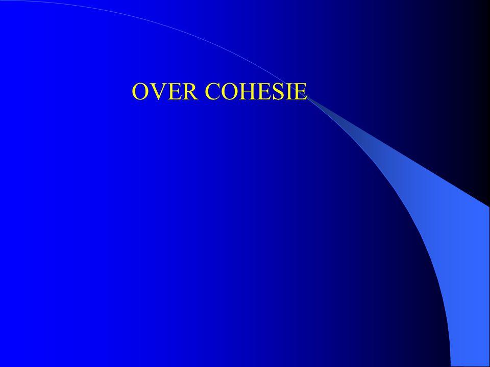OVER COHESIE