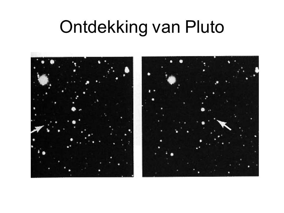 Ontdekking van Pluto