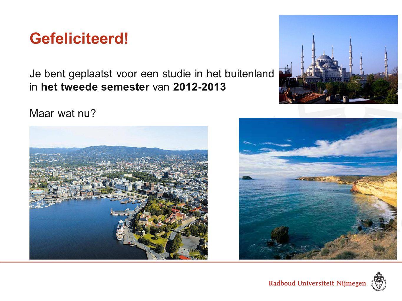Specifieke informatie voor jullie: Sigrid van den Berg, studieadviseur: Wat als ik mijn propedeuse niet heb gehaald.