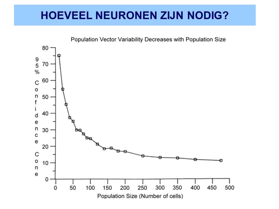 HOEVEEL NEURONEN ZIJN NODIG?