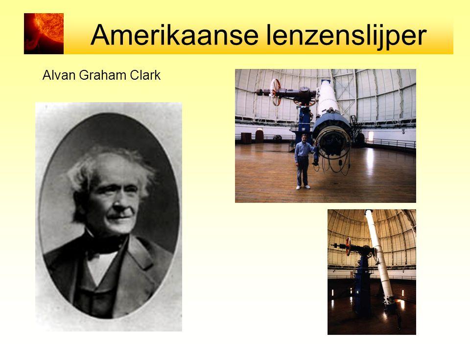 Amerikaanse lenzenslijper Alvan Graham Clark