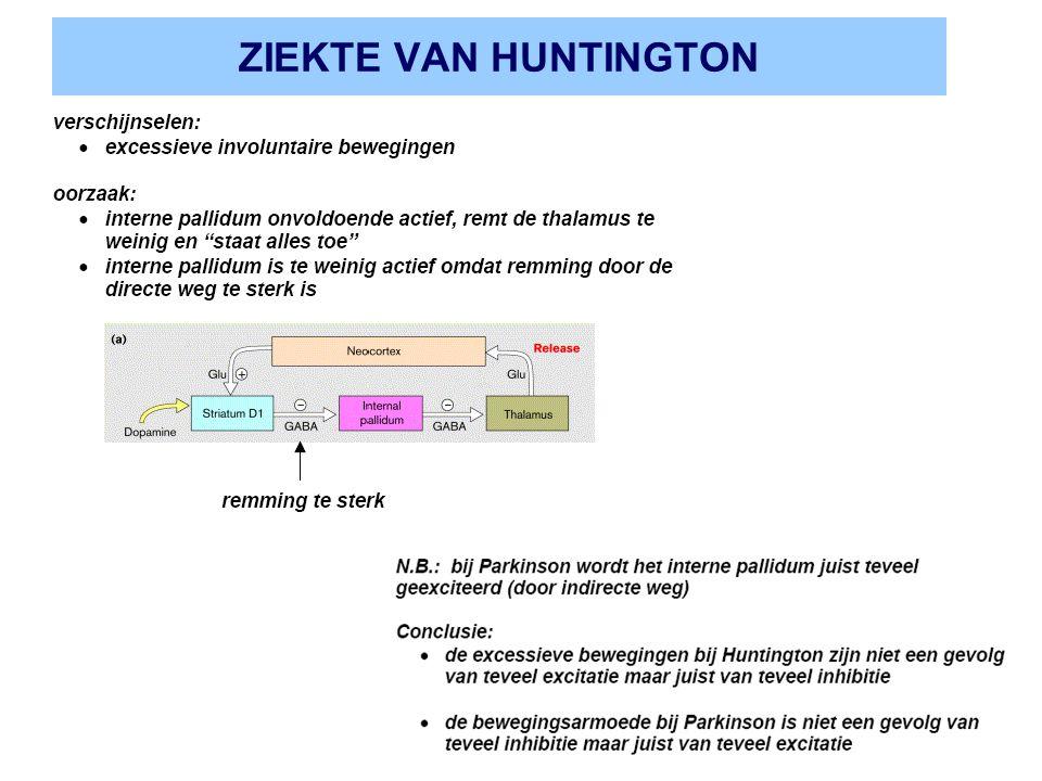 ZIEKTE VAN HUNTINGTON