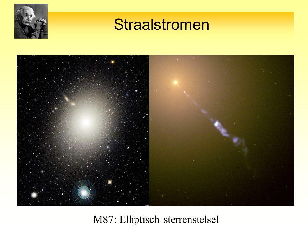 Straalstromen M87: Elliptisch sterrenstelsel