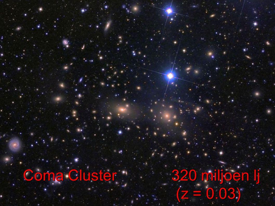 Coma Cluster 320 miljoen lj (z = 0.03) (z = 0.03)