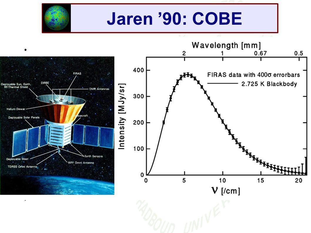 Jaren '90: COBE.