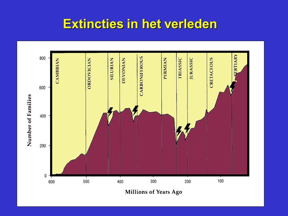 Extincties in het verleden