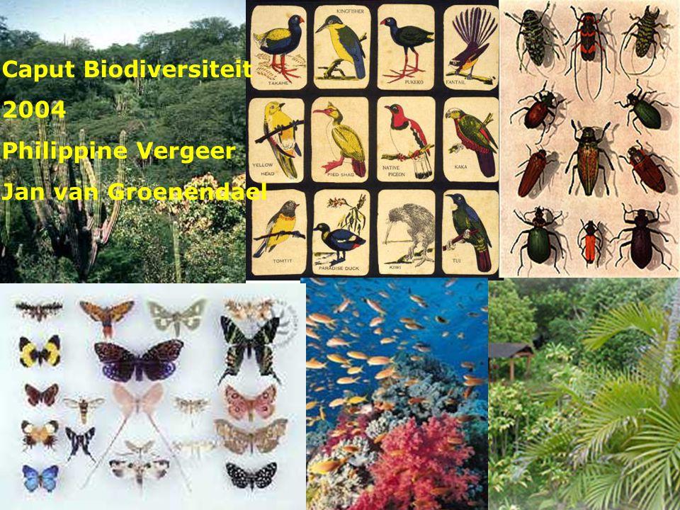 Caput Biodiversiteit 2004 Philippine Vergeer Jan van Groenendael