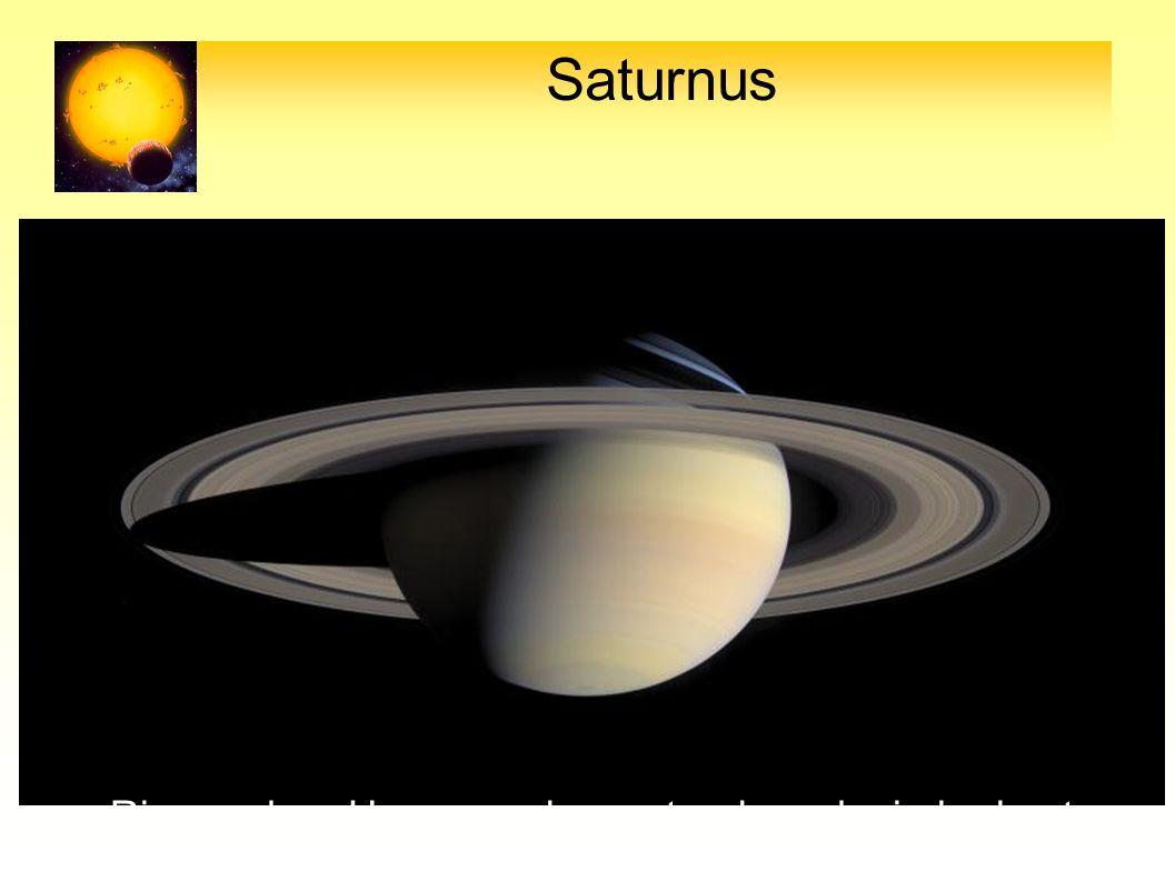 Saturnus Ringen door Huygens als eerste als zodanig herkent