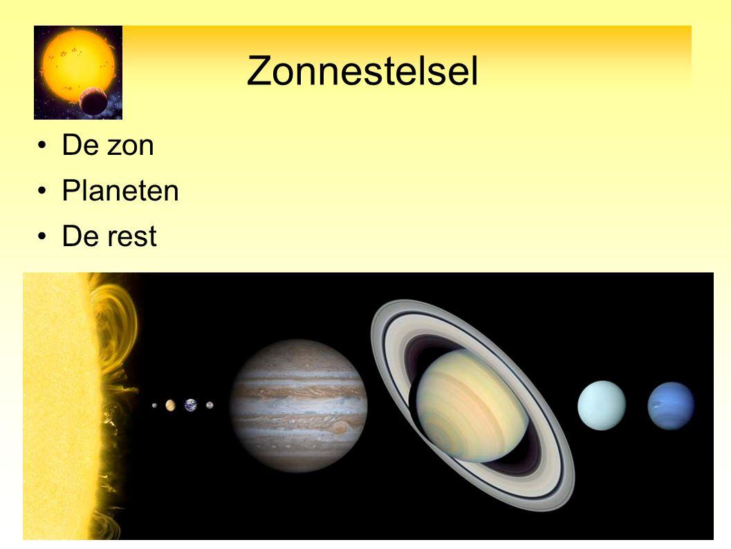 Pluto & Kuiper Gordel Pluto is geen planeet omdat hij niet dominant is.