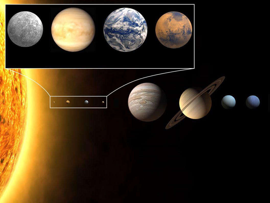 Copernicaanse wereldbeeld: Zon met planeten Rond 1600 de eerste suggesties dat sterren zonnen zijn die heel ver weg staan Daarmee meteen de vraag of daar ook planeten rond cirkelen (bijv.