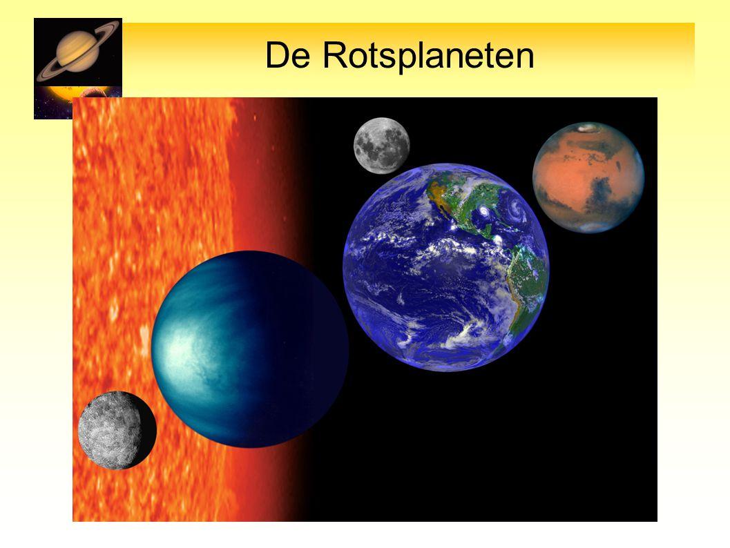 Mercurius VenusAardeMaan Mars R0.37 0.95 1 0.27 0.53 D zon 0.4 0.7 1 11.5 M0.55 0.88 1 0.1210.7 Atm.
