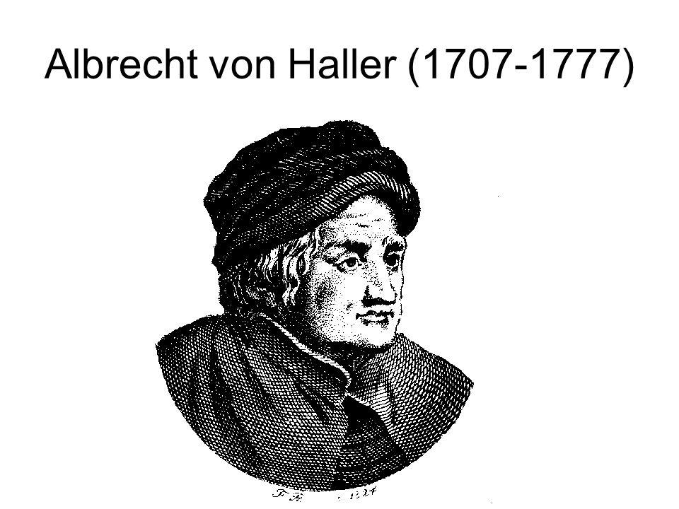 Albrecht von Haller (1707-1777)