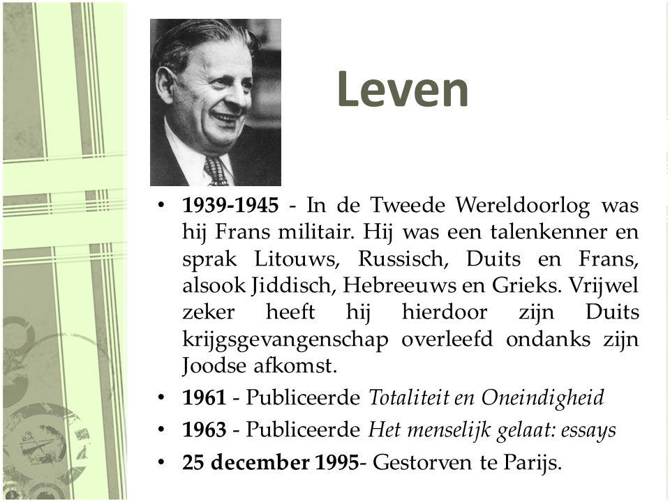 Werk 1929.Sur les « Idées » de M. E. Husserl 1932.