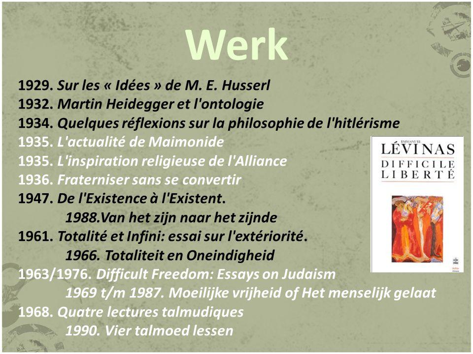 Werk 1972.Humanisme de l autre homme 1994. Humanisme van de andere mens 1974.