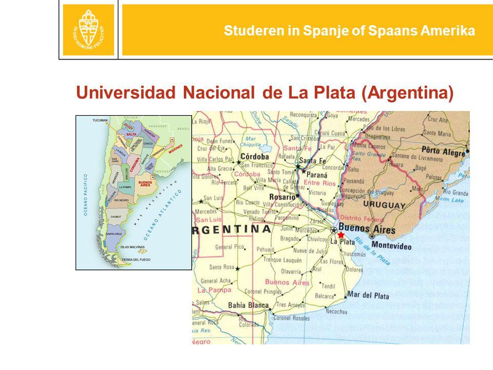 Universidad Nacional de La Plata (Argentina) Studeren in Spanje of Spaans Amerika