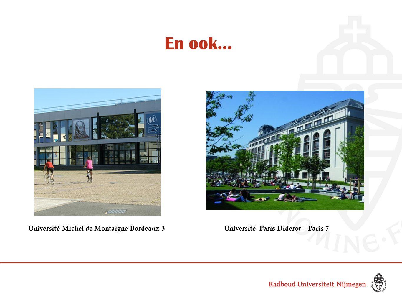 Et que penser de…? Université de Pau et des Pays de l'AdourUniversité de Lausanne