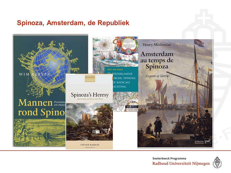 Spinoza, Amsterdam, de Republiek