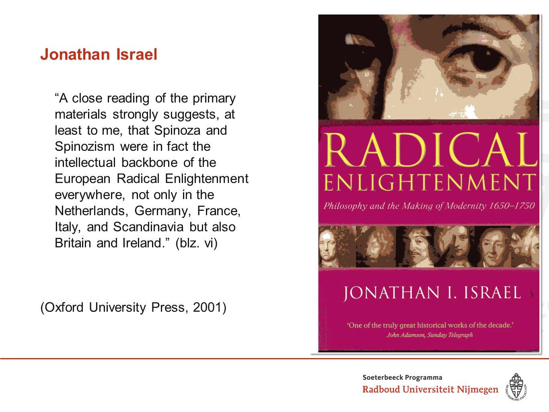 Jonathan Israel Een nieuwe ondertitel voor de Nederlandse lezer… (Franeker: Van Wijnen, 2005)