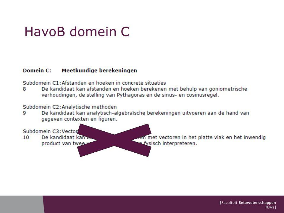 HavoB domein C