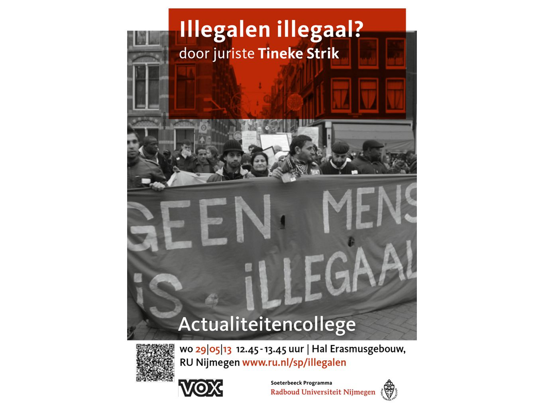Lezing Tineke Strik universitair docent Migratierecht Radboud Universiteit Nijmegen