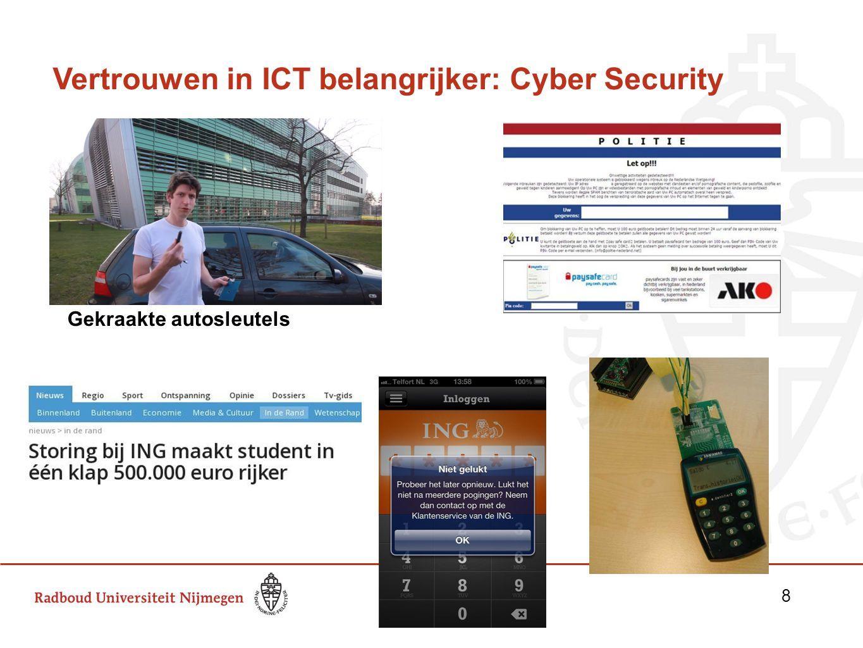 Vertrouwen in ICT belangrijker: Cyber Security Gekraakte autosleutels 8