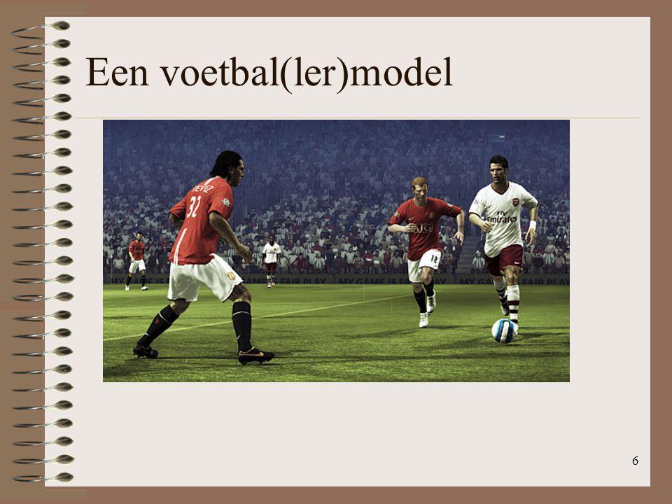 Een voetbal(ler)model 6