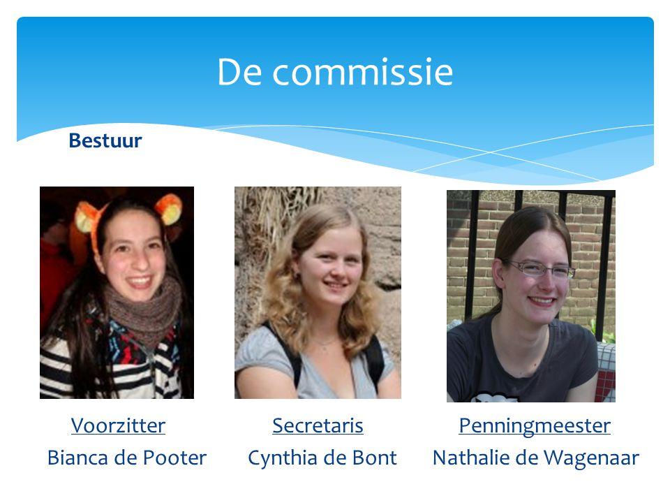 Sponsoring commissarissen De commissie Bas VenderboschNicole Galenkamp