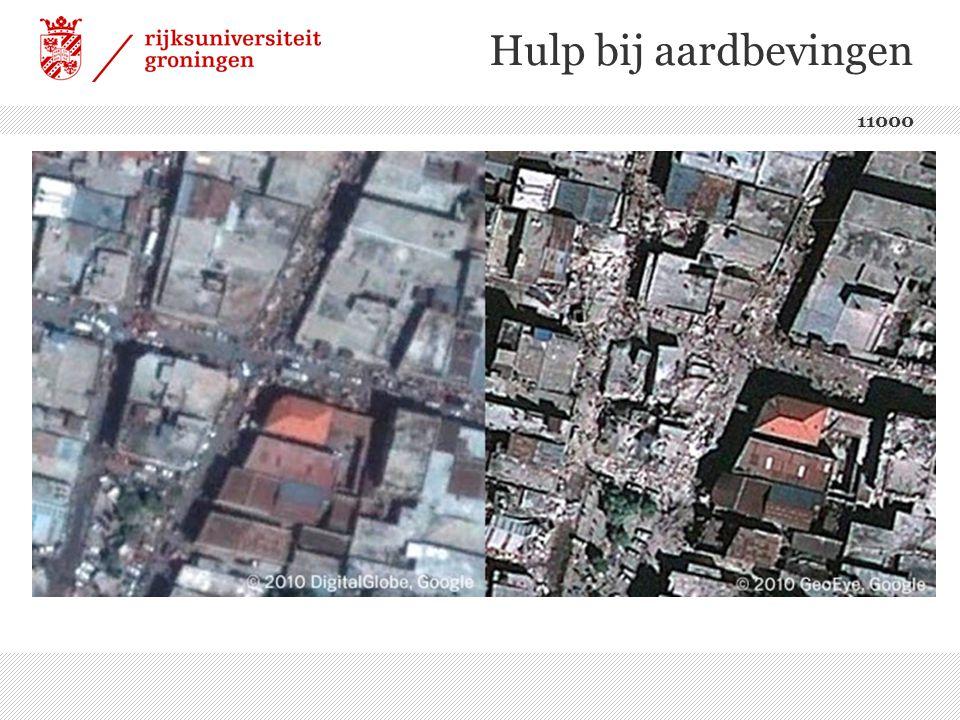 Hulp bij aardbevingen 11000