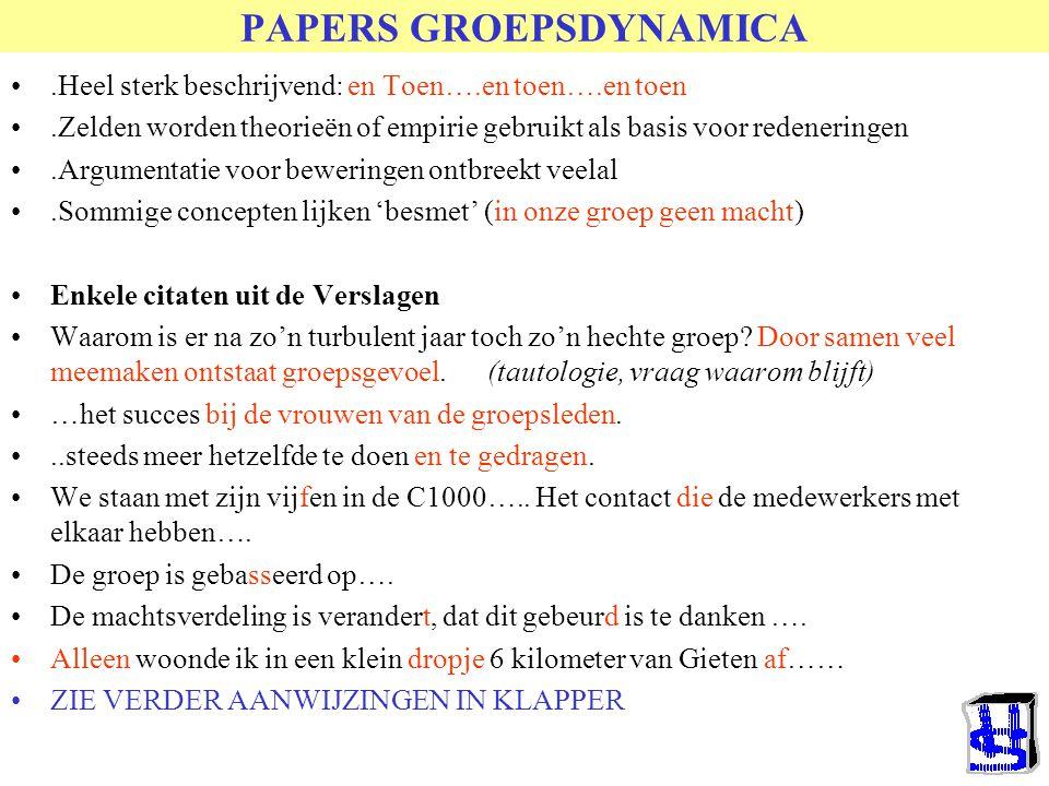 Studievrg & Papers (alfabetisch) Oude Papers&vragen Studievragen retour Nieuwe hier leggen