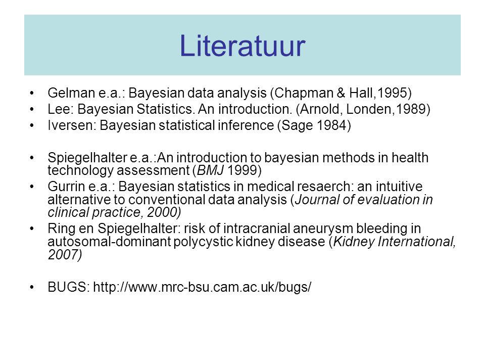 Tot slot … Een Bayesiaan en een frequentist worden beiden ter dood veroordeeld …