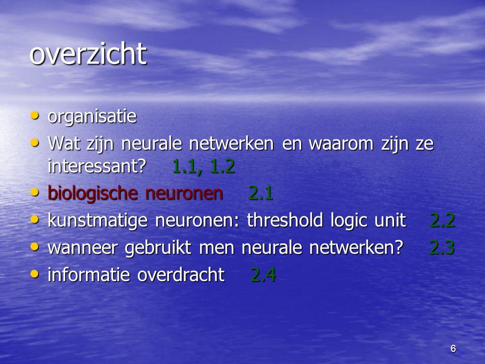17 biologische neuronen