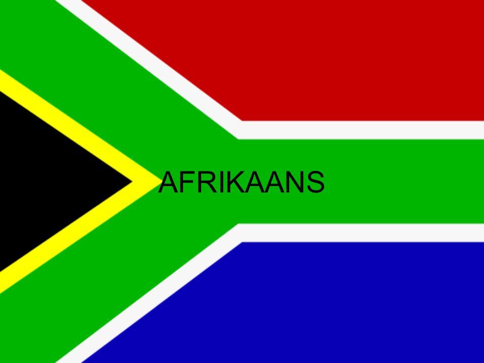 Inleiding Ontstaan en ontwikkeling van het Afrikaans Het Afrikaanse nationalisme en de standardisering van het Afrikaans Belangrijke kenmerken van het Afrikaans (t.o.v.