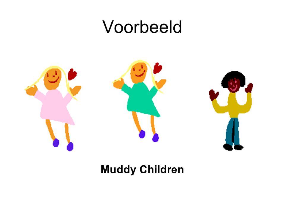 Voorbeeld Muddy Children