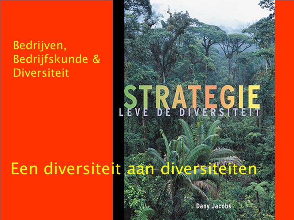 Bedrijven, Bedrijfskunde & Diversiteit Een diversiteit aan diversiteiten