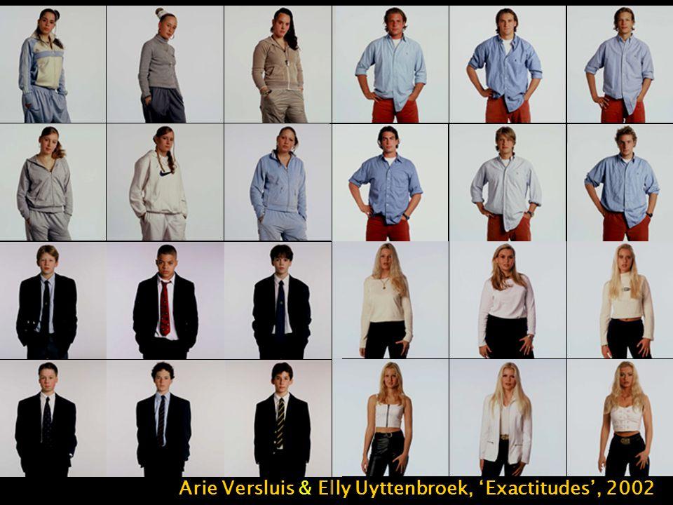 Arie Versluis & Elly Uyttenbroek, 'Exactitudes', 2002