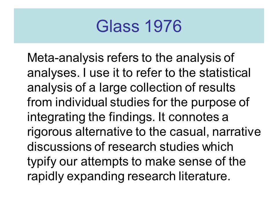 Inderdaad … 1940: 2300 biomedische tijdschriften 1990: 23.000 biomedische tijdschriften In medline: –1990 100 maal meta-analysis in abstract –2000 400 maal meta-analysis in abstract