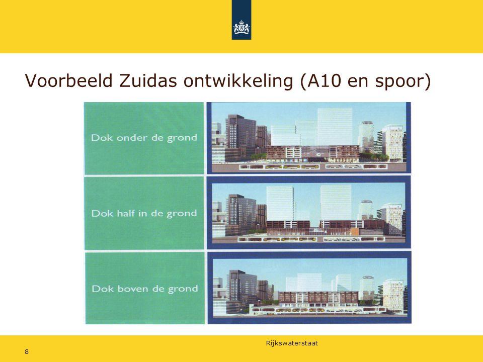 Rijkswaterstaat Voorbeeld Zuidas ontwikkeling (A10 en spoor) 8