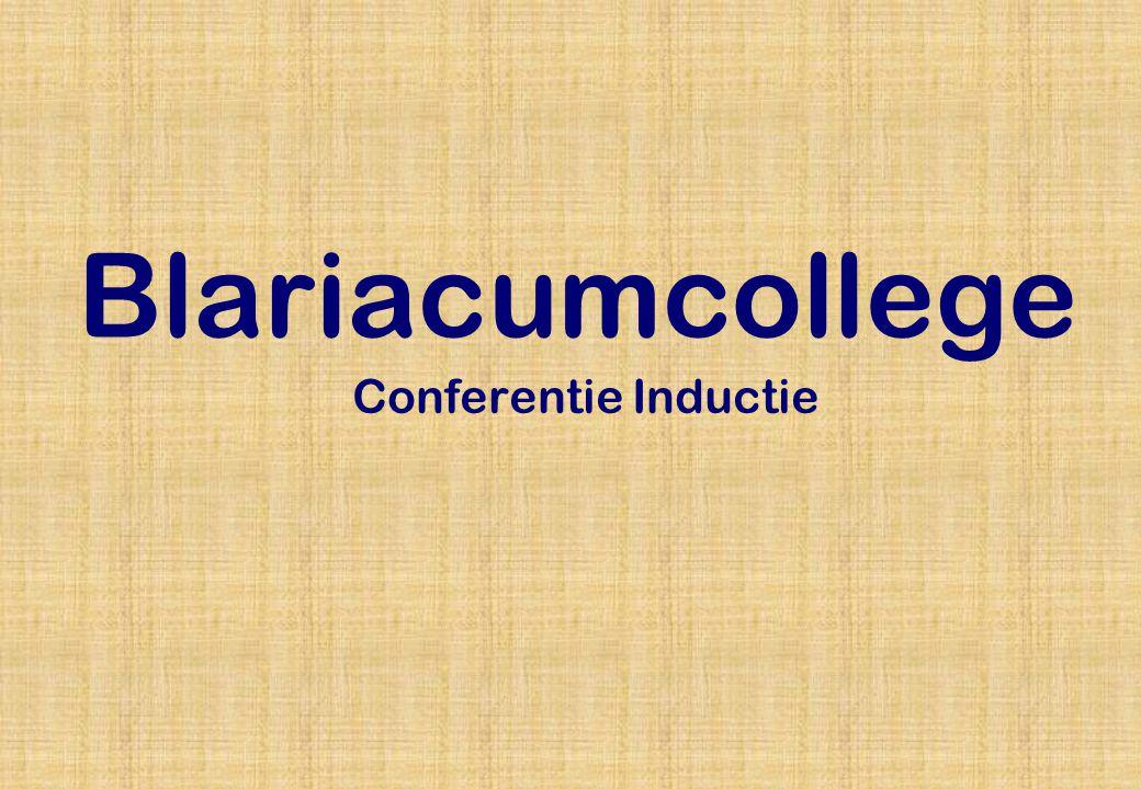 Blariacumcollege Conferentie Inductie