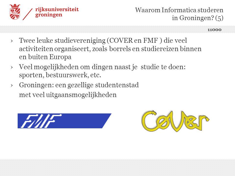 ›Twee leuke studievereniging (COVER en FMF ) die veel activiteiten organiseert, zoals borrels en studiereizen binnen en buiten Europa ›Veel mogelijkheden om dingen naast je studie te doen: sporten, bestuurswerk, etc.