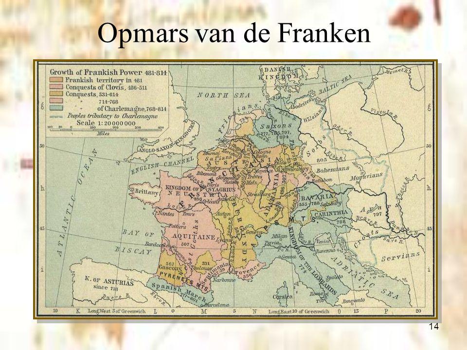 14 Opmars van de Franken