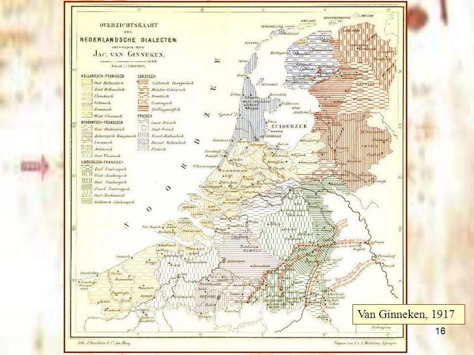 16 Friezen, Saksen en Franken Van Ginneken, 1917