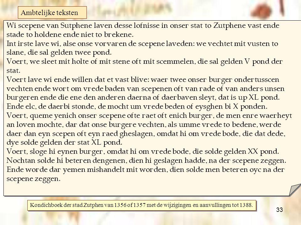 33 Middelnederlands   