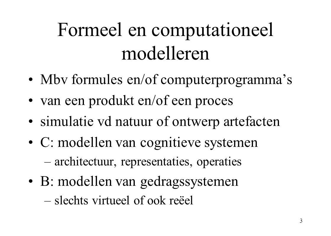 14 macro-representatie aggregaat-niveau quasi micro-representatie echt basis-niveaubasis-representatie Representatie niveaus bij (één) macro-micro onderscheid één (georganiseerd aggregaat-) systeem